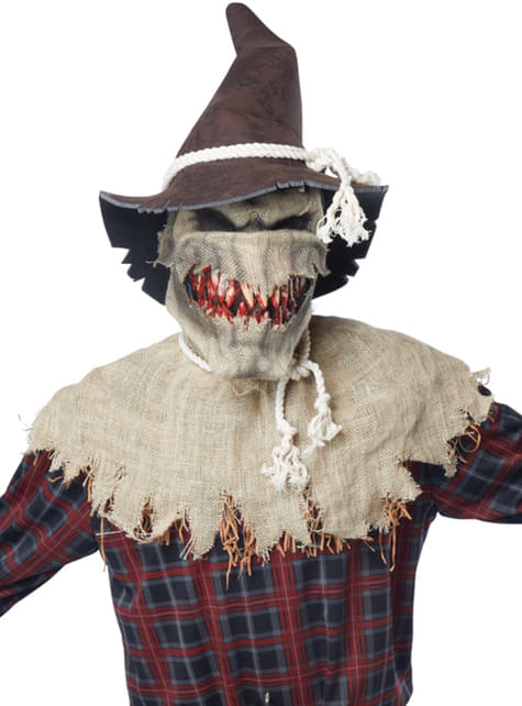 Disfraz de espantapájaros sádico
