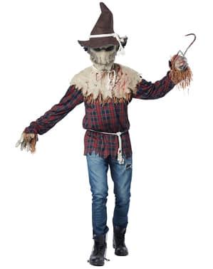 Angstaanjagende vogelverschrikker Kostuum voor mannen