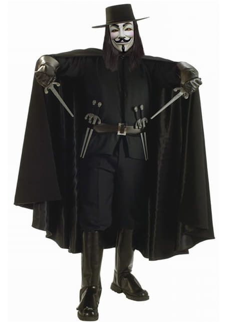 Luxusný kostým V ako Vendeta pre dospelých