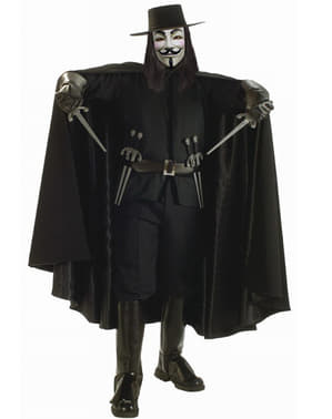V for Vendetta kostume luksus