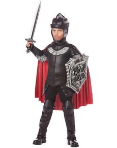 e3d04a720d67f Costume da Cavaliere Nero per bambino ...