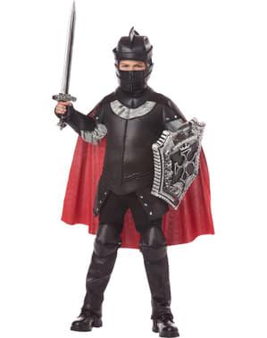 Disfraz de Caballero Negro para niño