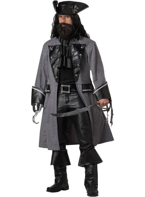 Déguisement Pirate barbe noire homme