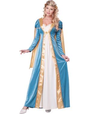 Costum regina medievală pentru femeie