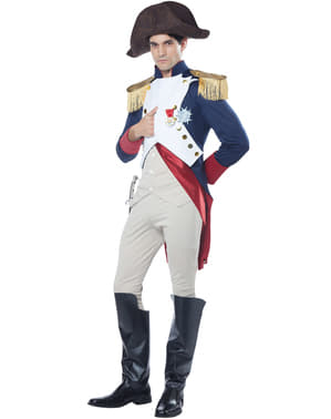 Maskeraddräkt Kejsare Napoleon vuxen