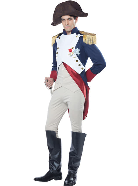 Disfraz de emperador Napoleón para hombre