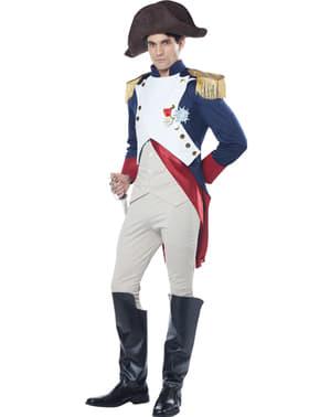 Fato de imperador Napoleão para homem