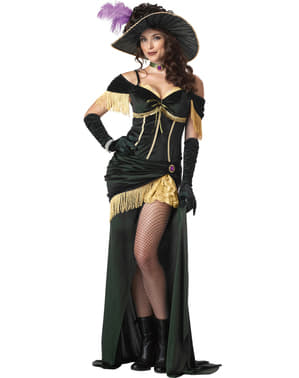 Saloon Madame Kostüm für Damen