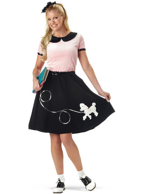 Disfraz de Daisy años 50 para mujer
