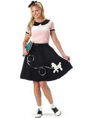 Costum Daisy anii 50 pentru femeie