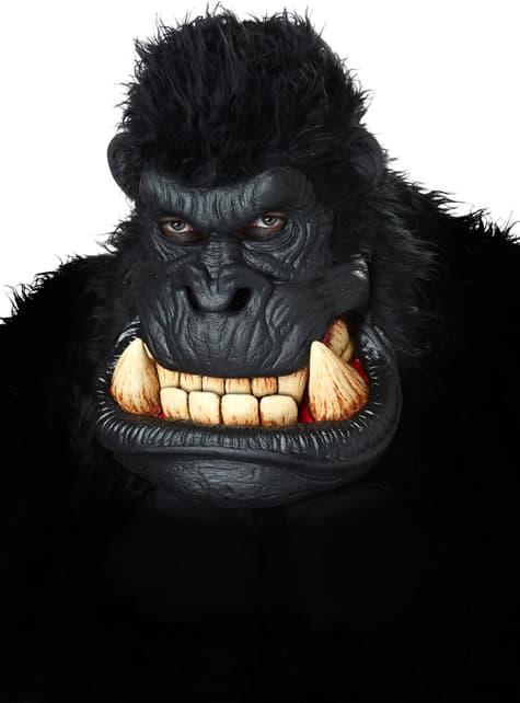 Máscara de gorila asesino para adulto