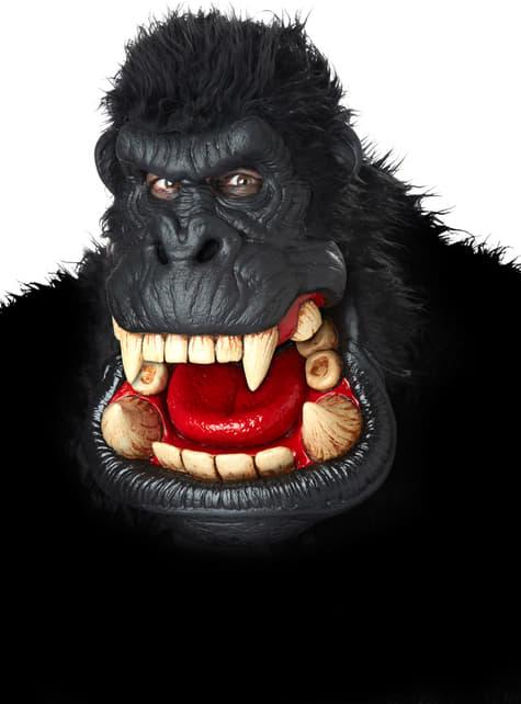 Máscara de gorila asesino para adulto - original