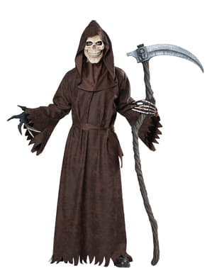 Pánsky strašidelný kostým smrti