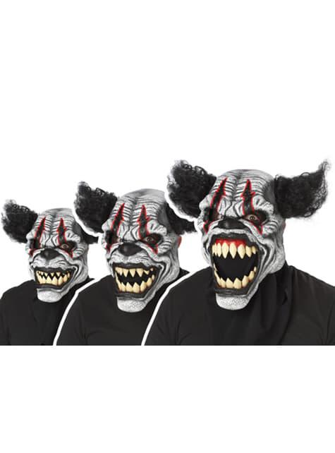 Máscara de payaso Última Carcajada para adulto