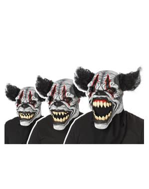 Máscara de palhaço Última Gargalhada para adulto