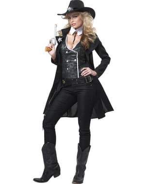 Жіночий костюм шерифа округу