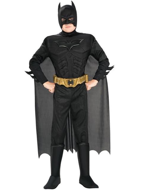 Costum Batman TDK Rises Deluxe pentru copii