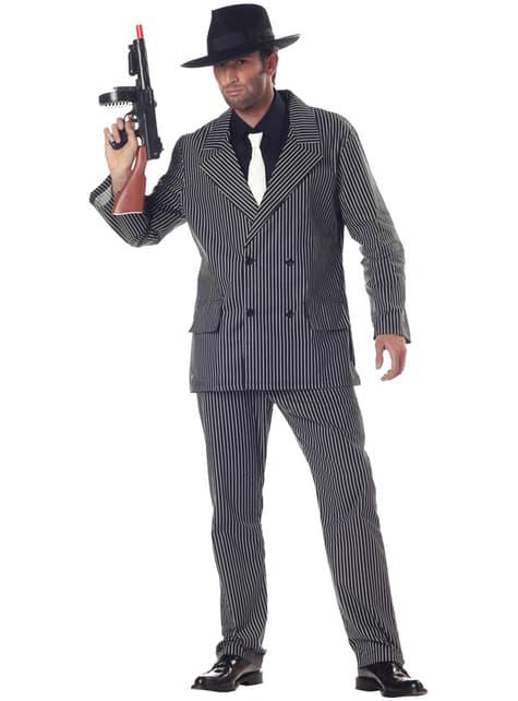 Strój zadziornego gangstera męski