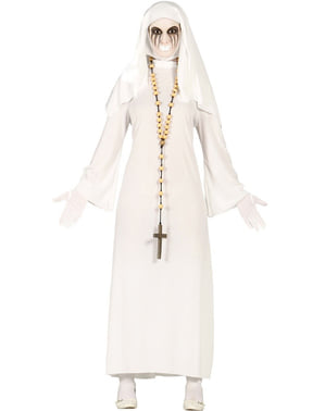 Zombie Nonne Kostume til Kvinder