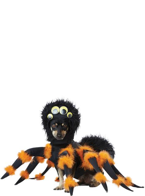 Disfraz de araña aterradora para perro