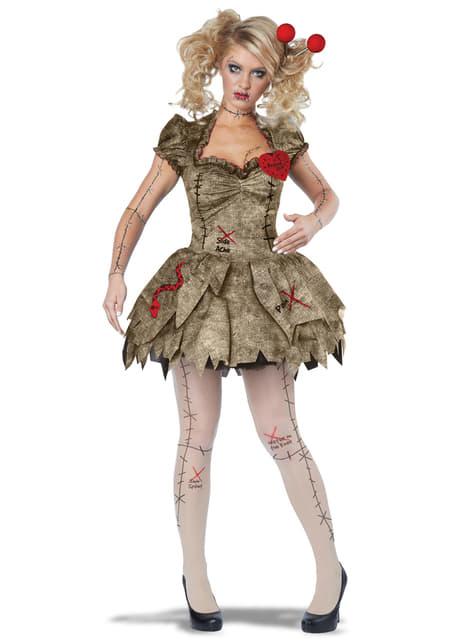 altamente elogiato nuovo stile di vita cerca ufficiale Costume da bambola voodoo per donna