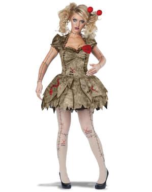 Voodoo Puppen Kostüm für Damen