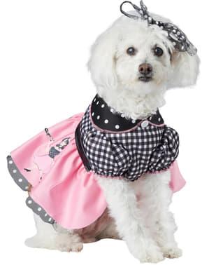 Kostým pro psa dáma z 50. let