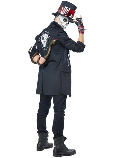 Disfraz de hechicero vudú para hombre - hombre