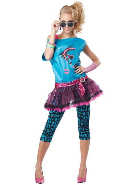 Disfraz de reina del Pop para mujer