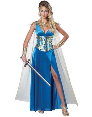 Fato de princesa guerreira para mulher