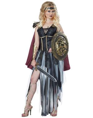 Wütunde Gladiatorin Kostüm für Damen