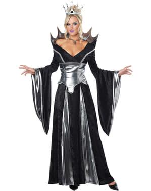 Déguisement sorcière reine malveillante femme