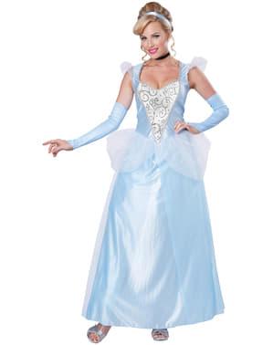Disfraz de princesa de la medianoche para mujer