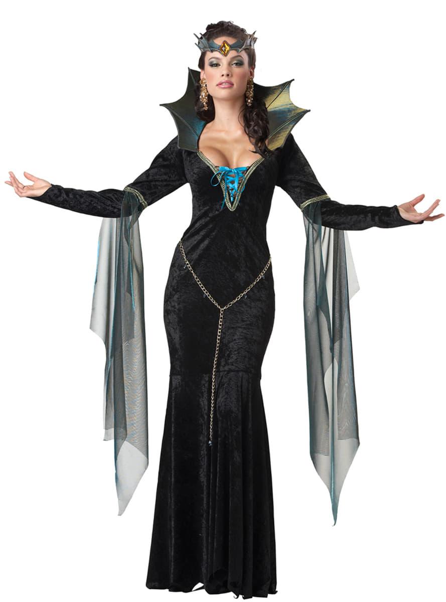 Déguisement sorcière maléfique femme