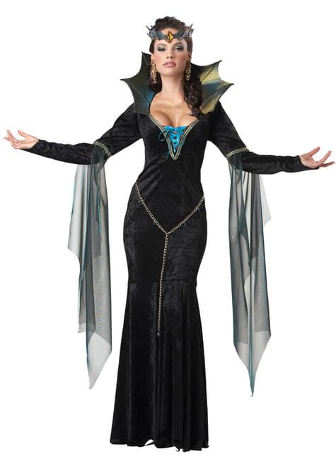 Disfraz de hechicera malvada para mujer