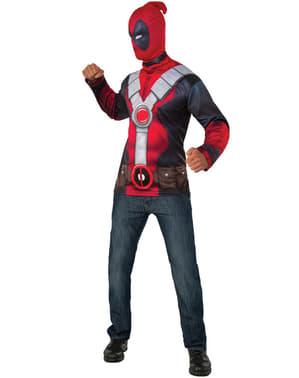 Kit fato de Deadpool para homem
