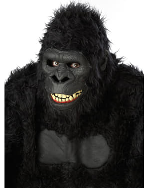 Jungel Gorilla Maske Voksen
