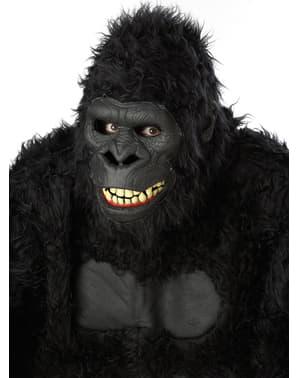 Wilder Gorilla Maske für Erwachsene