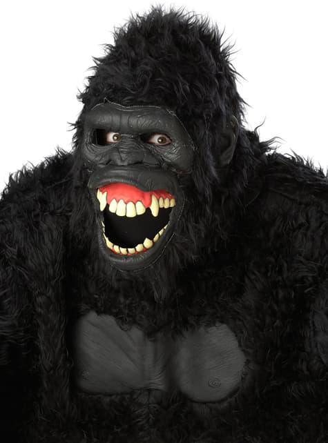 Máscara de gorila selvático para adulto - para tu disfraz
