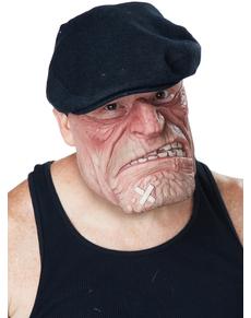 Media máscara de ratero con malas pulgas para hombre