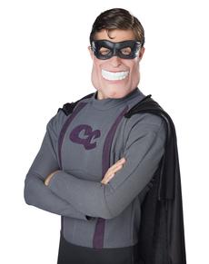 Media máscara de superhéroe enmascarado para hombre