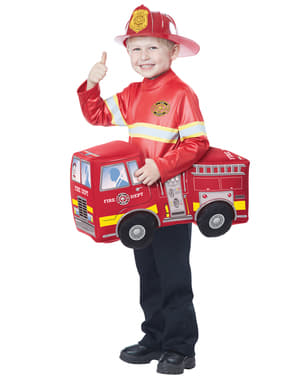 Boy's Heroic Fireman Costume