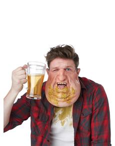 Máscara de borracho pasado para adulto