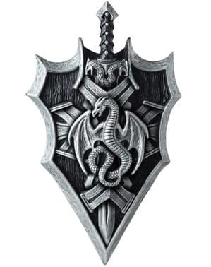 Zestaw miecz i tarcza Władca smoków