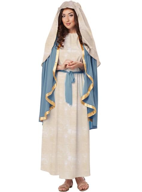 Fato de Virgem Maria para mulher