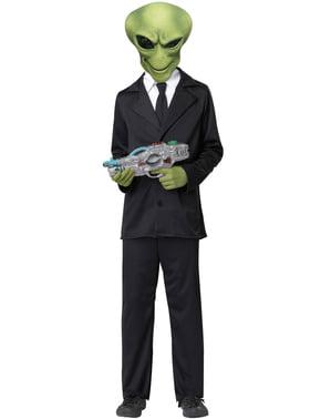 Alien Maske und Hände Kit für Jungen