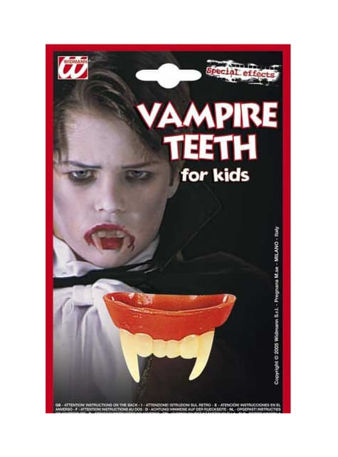 Drakula zubi dijete