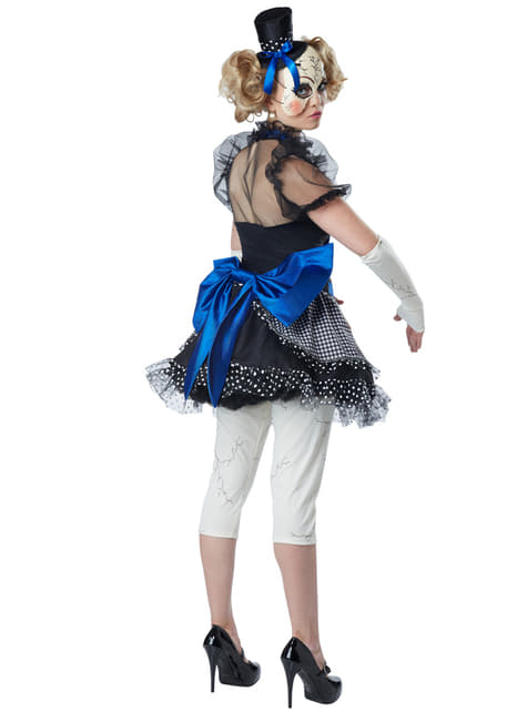 Disfraz de muñeca de porcelana rajada para mujer - mujer
