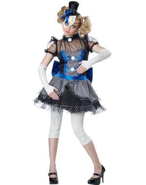 Knust Porselens Dukke Kostyme Dame