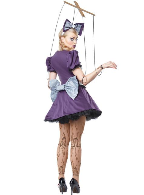 Disfraz de marioneta con hilos para mujer - mujer